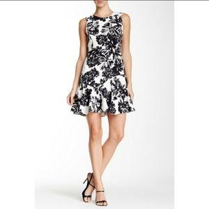 Rebecca Taylor Floral Flippy Dress Size 10